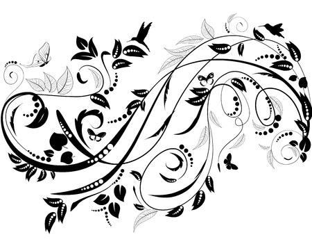 Ornamento planta para su diseño Foto de archivo - 36008392