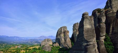 kalampaka: Panorama. Meteora, Greece
