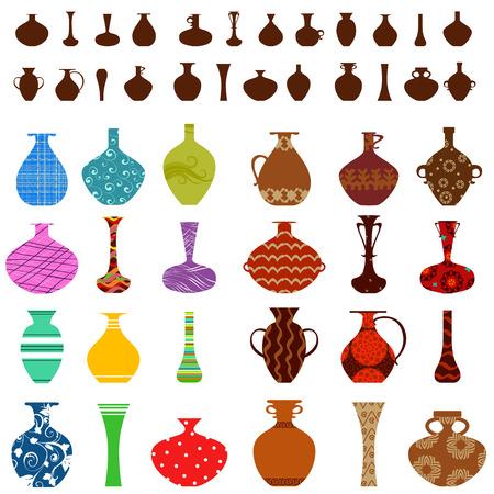 vasi greci: collezione di vasi per il vostro disegno
