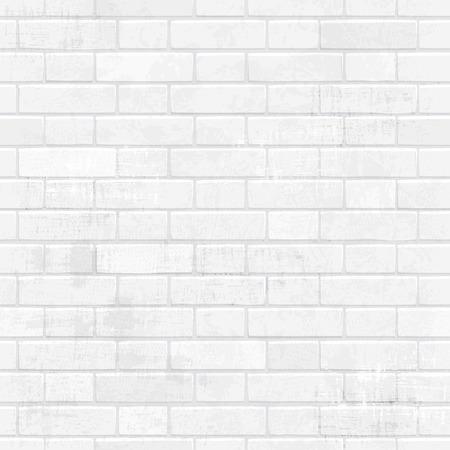 shabby chic muro di mattoni bianchi per la progettazione.