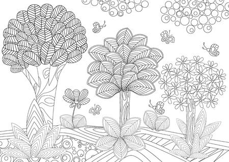 Imagenes De Paisajes Naturales Para Dibujar