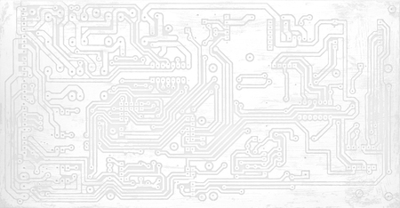 white texture of pcb without components