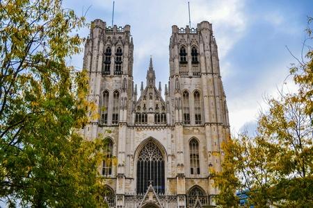 belgique: Old historical building in the Brussels, Belgium, Belgique, Europe  Stock Photo