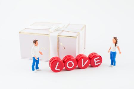 Valentine's Day concept image. Archivio Fotografico