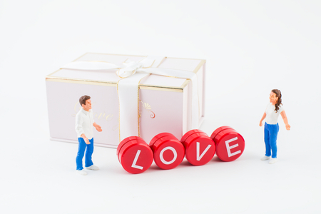 Valentine's Day concept image. 版權商用圖片