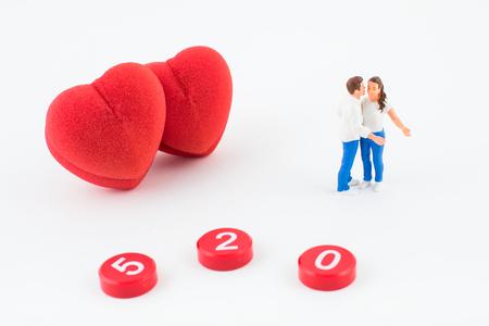 Valentines Day concept image. Фото со стока