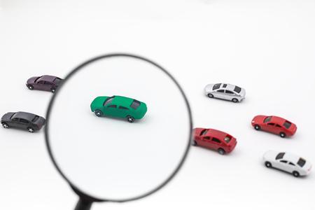 Environmentally friendly new energy vehicle Stock Photo