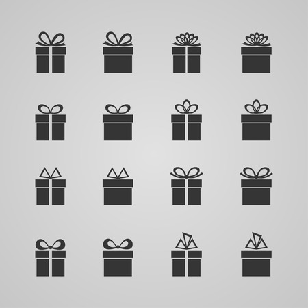 giftware: Set of gift boxes
