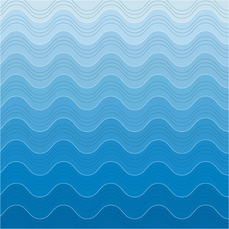 absract art: Sea background, absract waves background Illustration