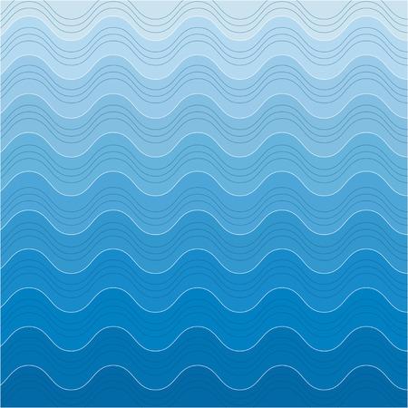 absract: Sfondo del mare, le onde absract sfondo