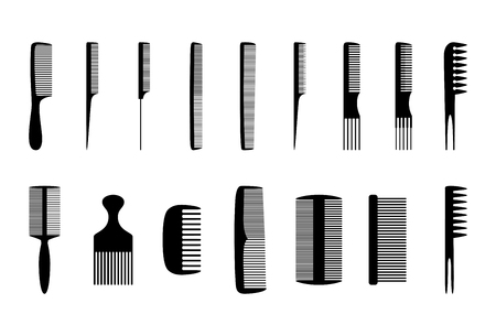 combs: Set of combs Illustration