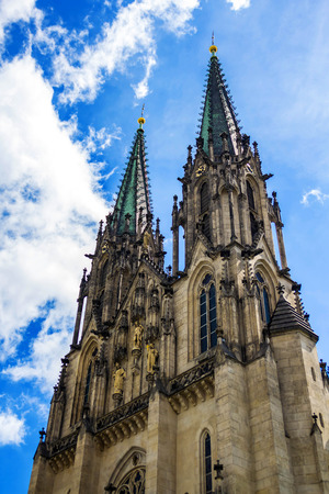 Cathedral of saint Wenceslas in Olomouc, Czech Republic