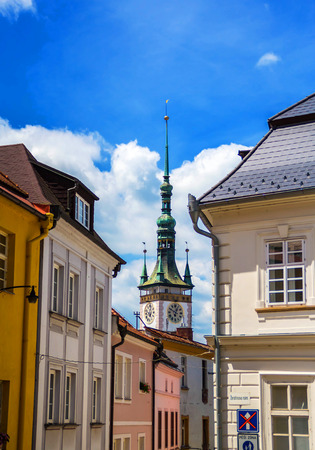 View of the town hall in Olomouc, Czech Republic Stock Photo