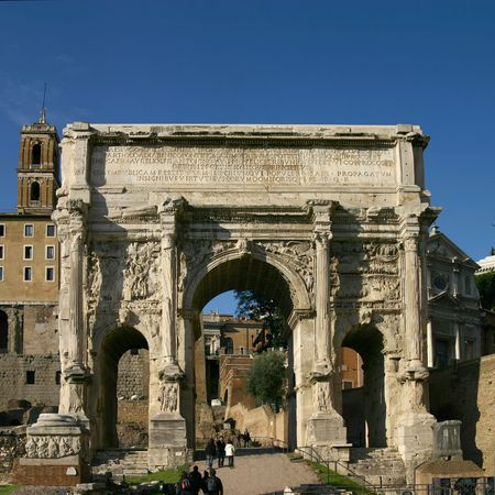 A key feature of the Roman Forum reamins in Rome
