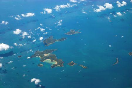 オーストラリアのグレートバリアリーフ ・ ゴールドスミス大陸棚島