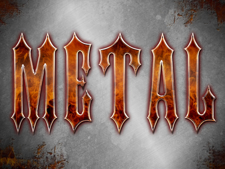 Heavy Metal Background