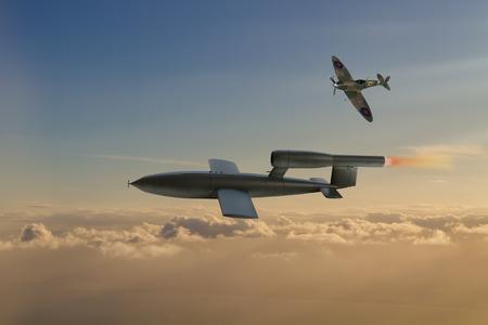 world war 2: V1 flying bomb of World War 2