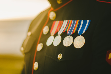 military uniform: Marine Medals
