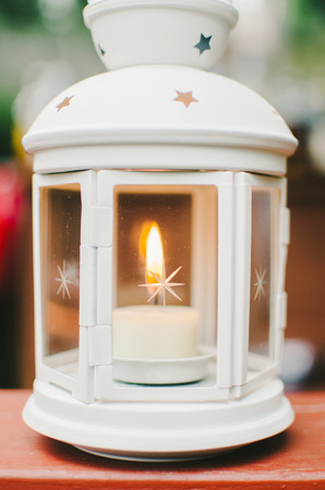 Tea Light Inside Star Lantern
