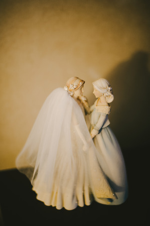 Mother  Bride Porcelain Figurine