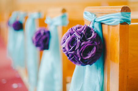 Purple  Aqua DIY Wedding Decorations