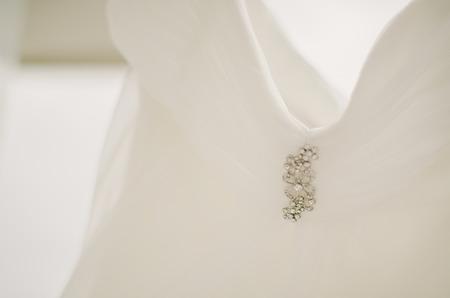 Rhinestone Bridal Gown Details