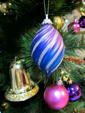 Christmas-Tree Decorations Stock Photo - 6107790