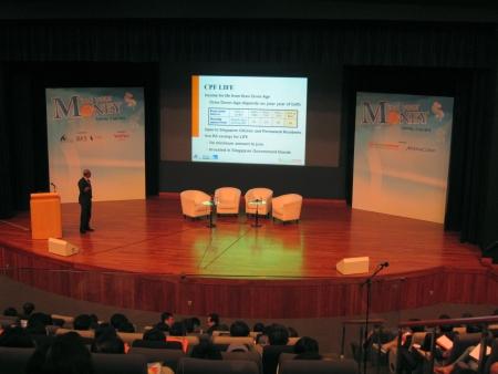 Mind your Money talk on a CPF Investment Decisions&acirc,%uFFFD%uFFFD, Saturday, 3 July 2010, Seminar 3 &acirc,%uFFFD%uFFFD Program.  HDB Hub Singapore