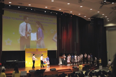 Singapore – Saturday, 8 January 2011; Edusave scholarship & Edusave Merit Bursary award presentation 2011, Guest-of Honour Mr Seah Kian Peng MP from Marine Parade GRC and Adviser to Marine Parade GRC Grassroots Organisations.