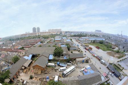 Nanjing?s suburban housing area landscape Stock Photo