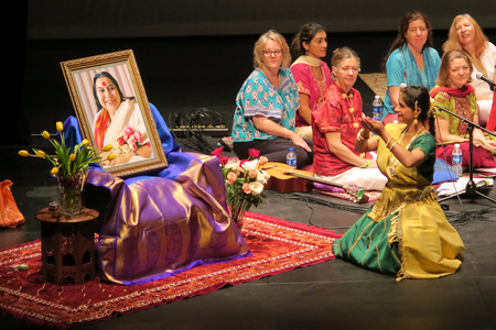 Singapore, July 2, School of the Arts Singapore (SOTA), Sahaja Yoga Music of Joy (MOJ) Concert is a Music Meditation Therapy Concert, was held at School of the Arts Singapore (SOTA) from Australia band and with an Indian dancer on Saturday July 2, 2016