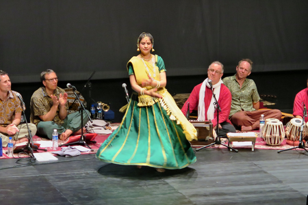 Singapore, July 2, School of the Arts Singapore (SOTA), Sahaja Yoga Music of Joy (MOJ) Concert is a Music Meditation Therapy Concert, was held at School of the Arts Singapore (SOTA) from Australia band and with an Indian dancer, on Saturday July 2, 2016
