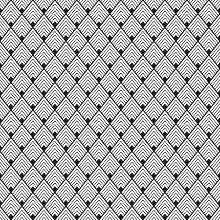 Seamless geometric pattern. Made in vector. Rhombic pattern Ilustração
