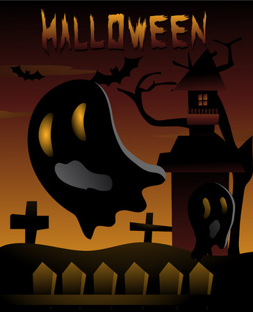 cute ghost: Halloween night with the Cute Ghost