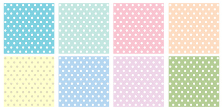 bg: pattern circle pastel tone background