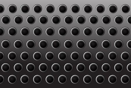 metal surface: circle metal gate background