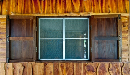 Old wood windows Stock Photo - 10565934