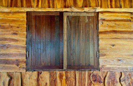 Old wood windows Stock Photo - 10565935