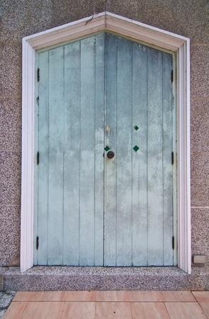 Old wood door photo