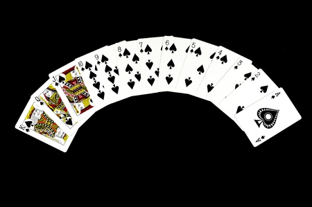 Aces playing cards Stock Photo - 11906431