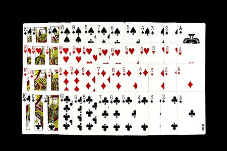 Aces playing cards