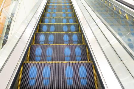 windlass: Escalator Stock Photo