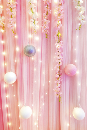 drapes: curtain or drapes pink background