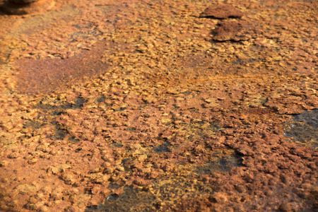 rusted: Background texture of Rusted steel Stock Photo