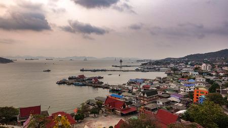 chonburi: Scenic point on Sichang island, Chonburi, Thailand Stock Photo