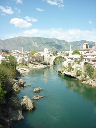 mostar: Mostar, Bosnia Herzegovina Stock Photo