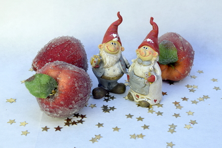 Gnomes and apples