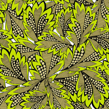 repetition: A seamless vector pattern with floral elements
