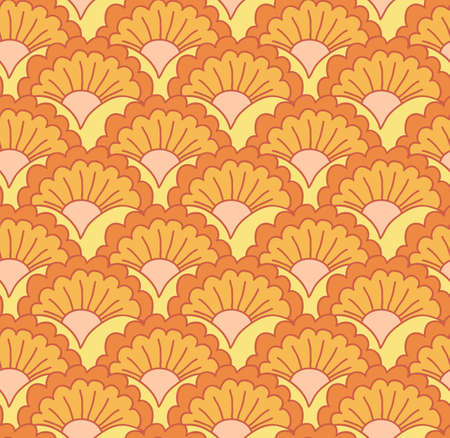 A seamless vector pattern with floral elements Vector
