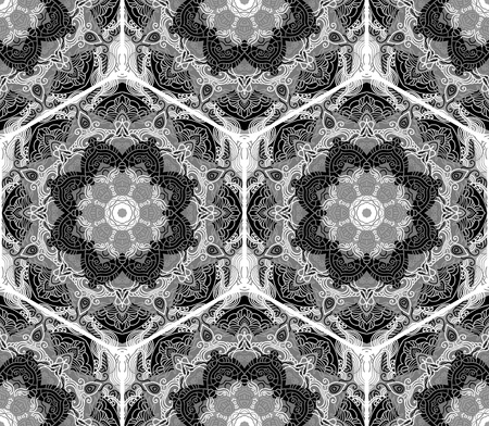 ethnic: seamless pattern, vector repeating texture
